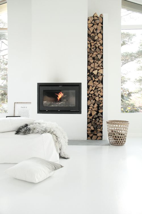 Scandi Fireplace