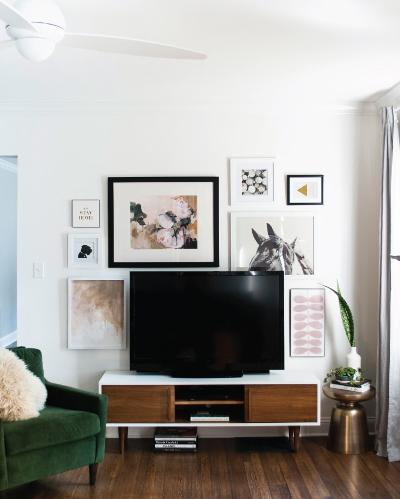 Decorating around the TV