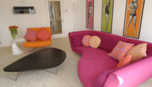 Sixties inspired Bath flat