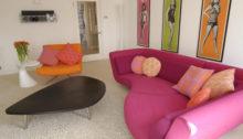 Sixties inspired Bath flat