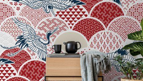 Japanese inspired interior design
